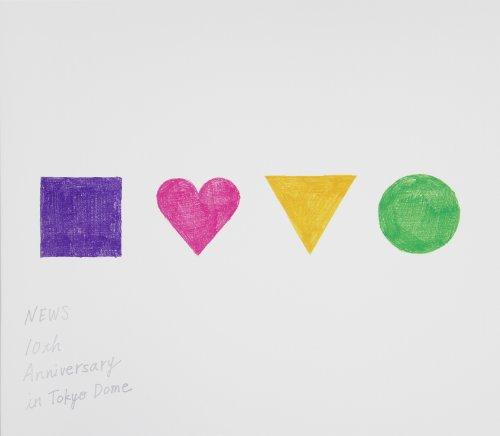 NEWS 10th Anniversary in Tokyo Dome【Blu-ray】(初回仕様)