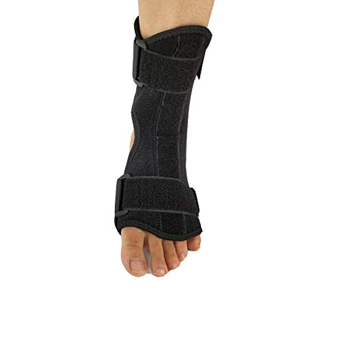 神聖クラブ悲鳴足首安定器、足首ブレース、足首サポート、スプリントサポート足首矯正装具ブレース、捻rainサポート、緊張、関節炎