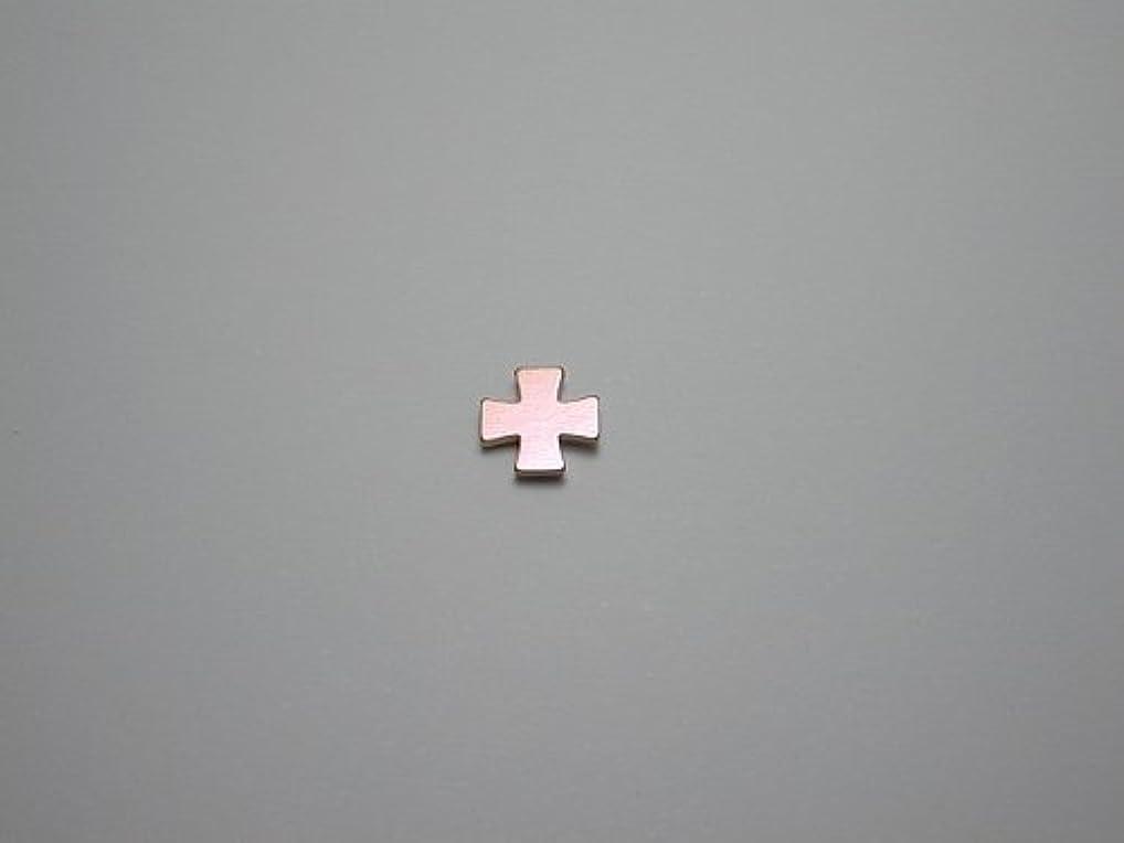 神話散逸鰐純チタンピアス 片耳 十字A ベビーピンク 金属アレルギーの方も安心