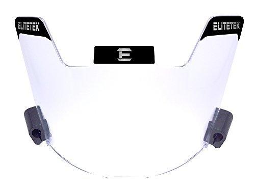 EliteTek Football Eye-shield Visor (Clear) [並行輸入品]