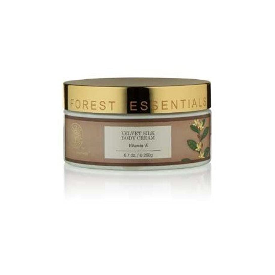 食欲ハンディキャップ例外Forest Essentials Velvet Silk Body Cream Vitamin E - 200g