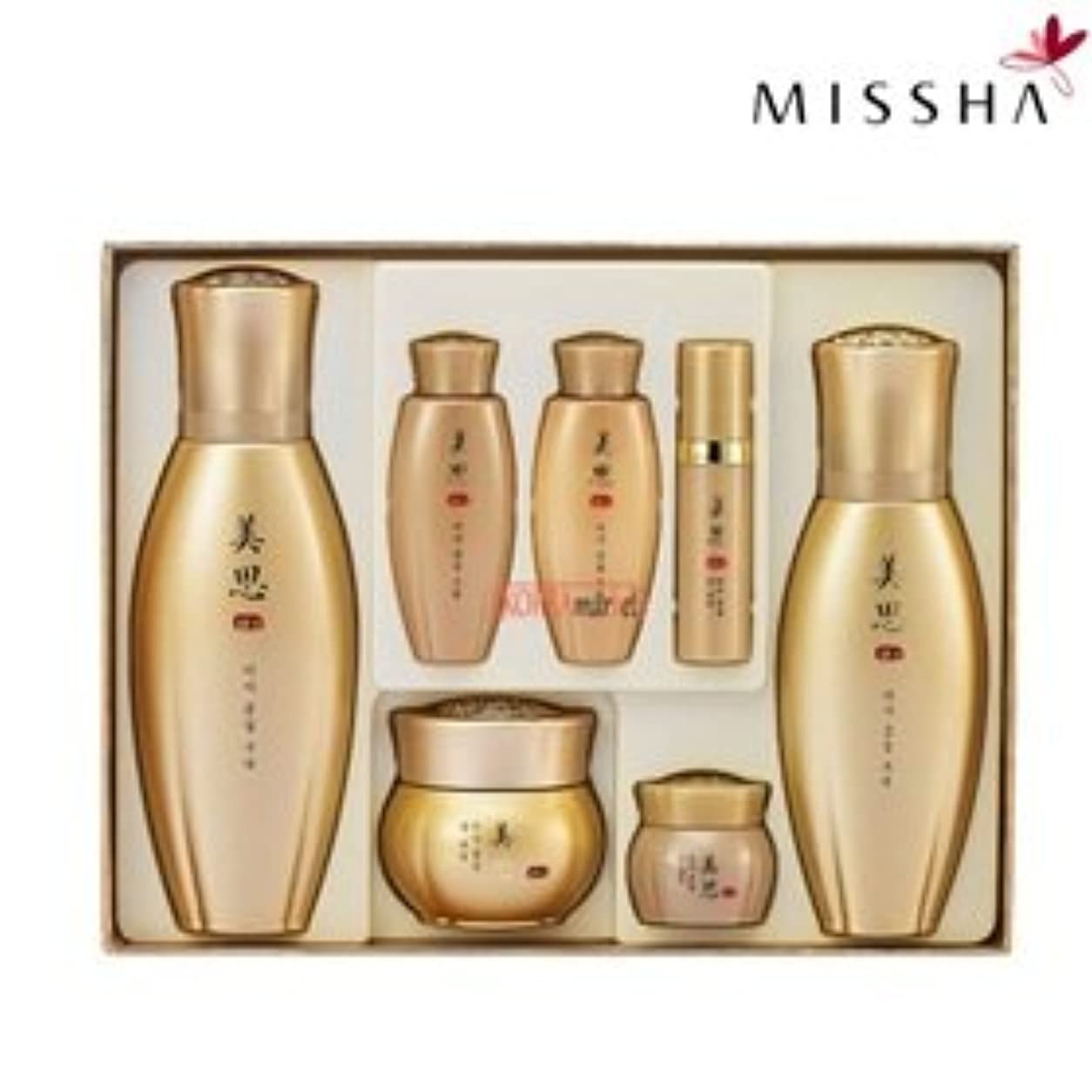 買い物に行く遵守するハイライトMISSHA(ミシャ)97種漢方成分配合美思 金雪(クムソル)3種企画セット 海外直送品