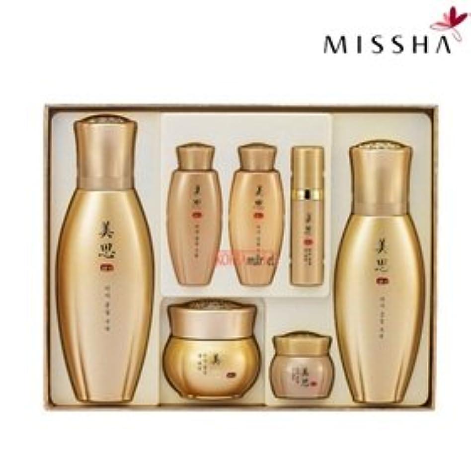ぶら下がる石油逸脱MISSHA(ミシャ)97種漢方成分配合美思 金雪(クムソル)3種企画セット 海外直送品