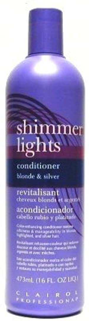 レーダー懇願するお肉Clairol Shi mmer Lights 473 ml Conditioner (Case of 6) (並行輸入品)