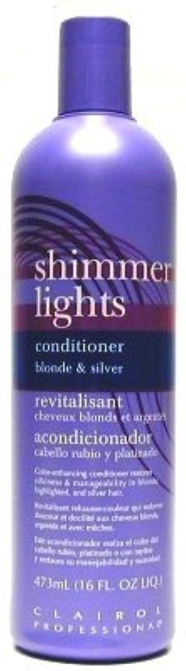 無心情熱的過度にClairol Shi mmer Lights 473 ml Conditioner (Case of 6) (並行輸入品)