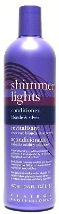 ミュート決めます交通Clairol Shi mmer Lights 473 ml Conditioner (Case of 6) (並行輸入品)