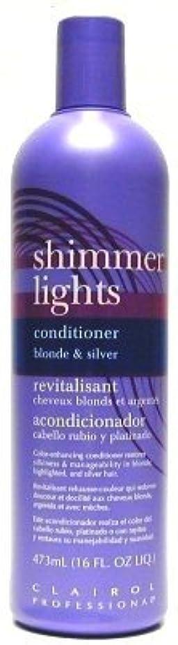 腐敗したメジャー上記の頭と肩Clairol Shi mmer Lights 473 ml Conditioner (Case of 6) (並行輸入品)