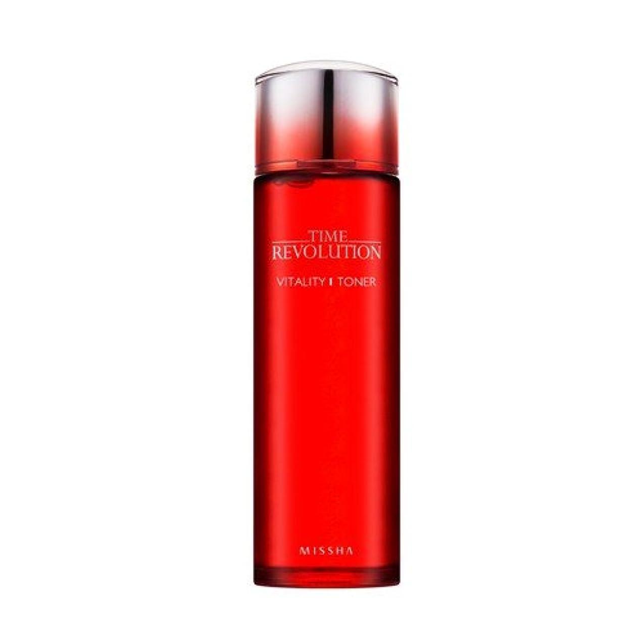 美容師公式ずらすMISSHA time revolution vitality toner (ミシャ タイムレボリューション バイタリティー トナー)150ml