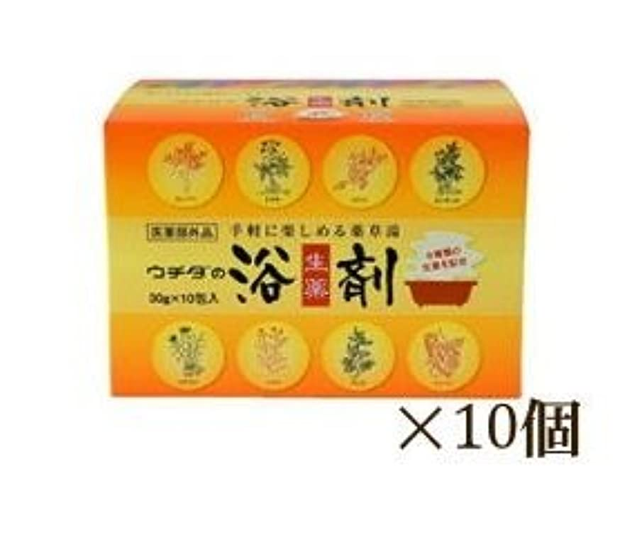 倒錯簡潔なパークウチダの生薬浴剤 10箱セット (1箱30g×10包) 医薬部外品