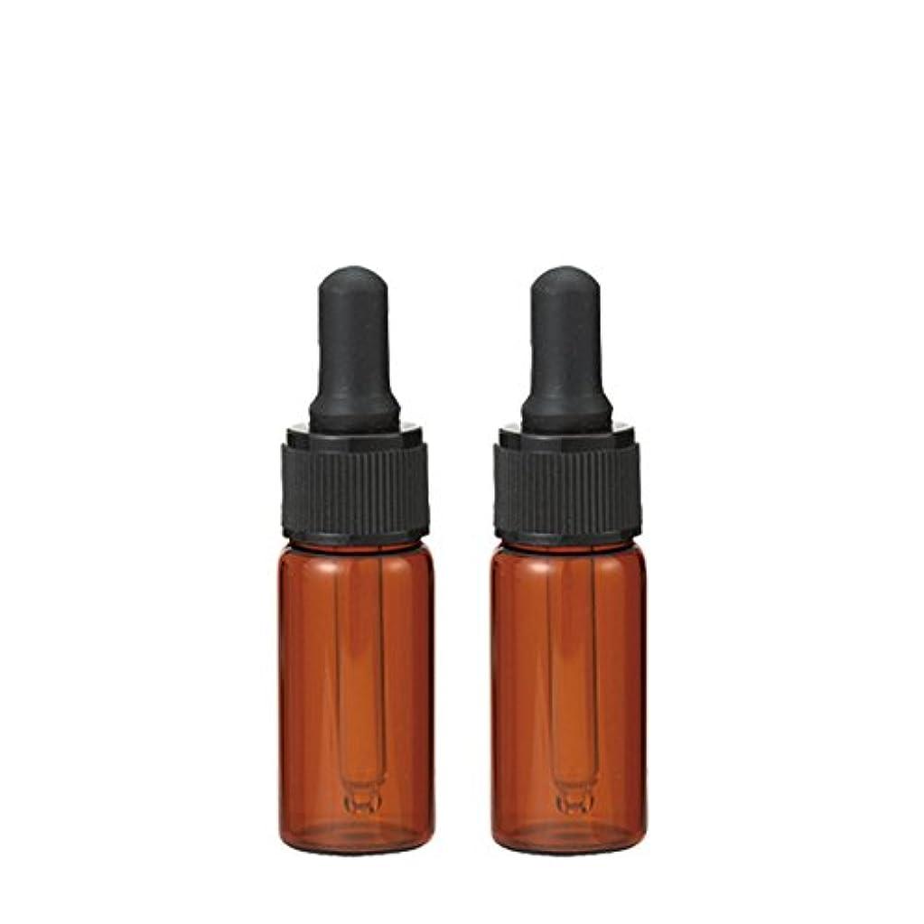 ボウリング協会発行生活の木 茶色遮光スポイト瓶 10ml (2本セット)