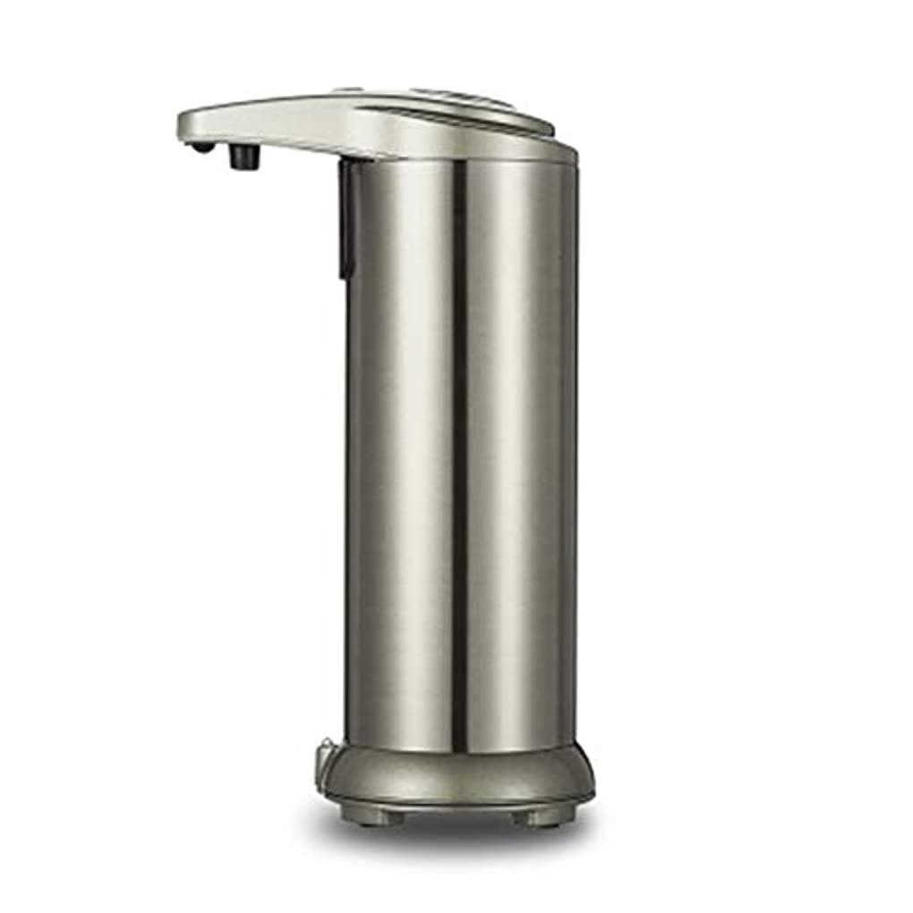 食堂立証する明らかにする280mlシャワーのステンレス鋼センサーの接触自由な石鹸のシャンプーディスペンサー