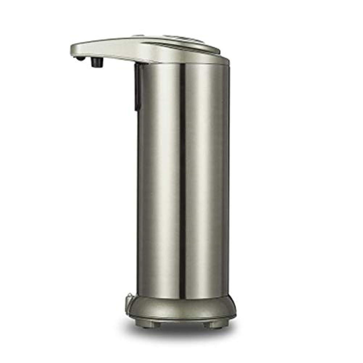 陸軍回転地元280mlシャワーのステンレス鋼センサーの接触自由な石鹸のシャンプーディスペンサー