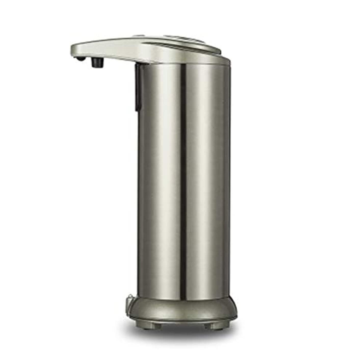 降下水没イソギンチャク280mlシャワーのステンレス鋼センサーの接触自由な石鹸のシャンプーディスペンサー