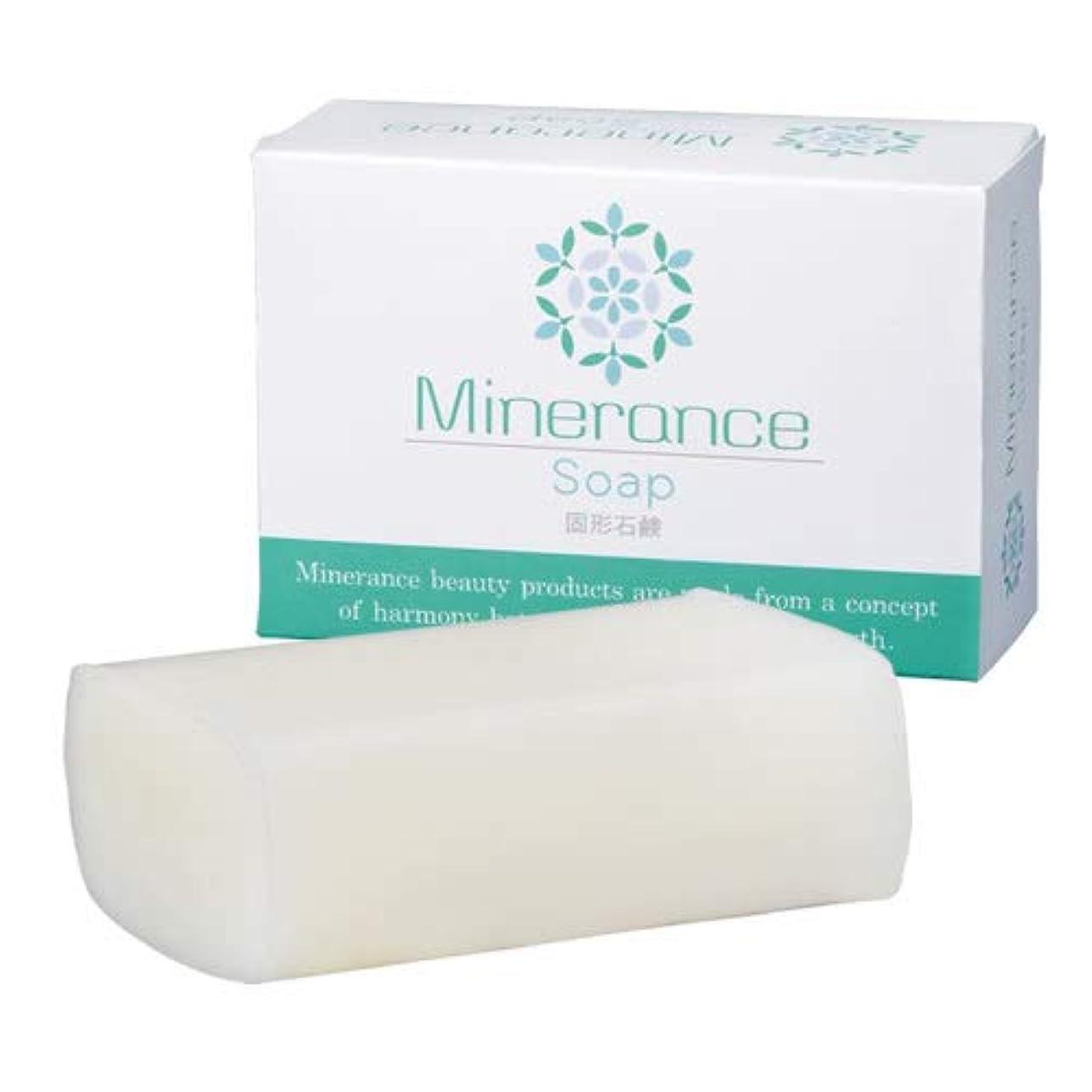 カラス剃るセミナーミネランス ソープ 固形 石鹸 90g
