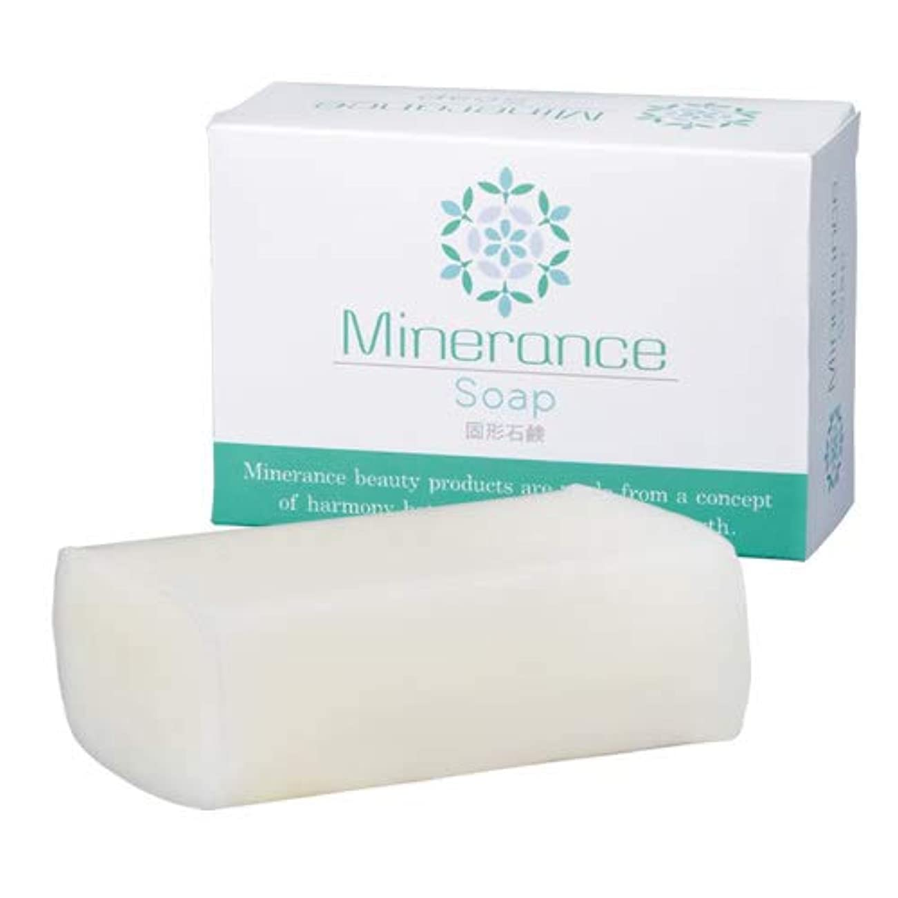 ミネランス ソープ 固形 石鹸 90g