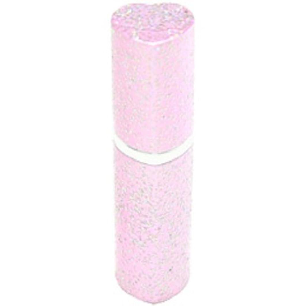 訪問どのくらいの頻度で教科書アトマイザー ラメハート ピンク 3ml 香水入れ