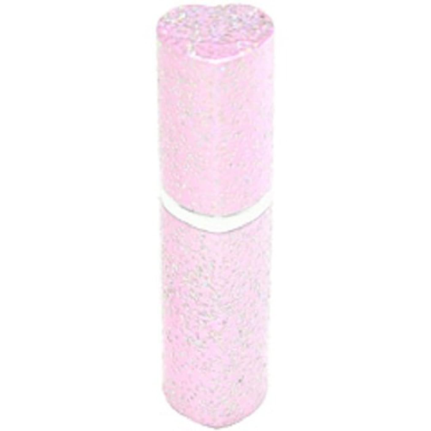 スイ死傷者タールアトマイザー ラメハート ピンク 3ml 香水入れ