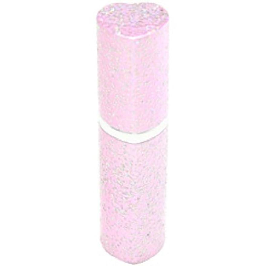 視線ほんの市民アトマイザー ラメハート ピンク 3ml 香水入れ