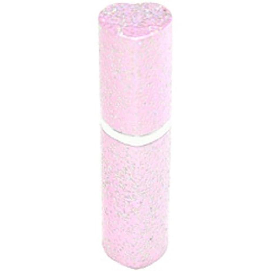 拘束もっと式アトマイザー ラメハート ピンク 3ml 香水入れ