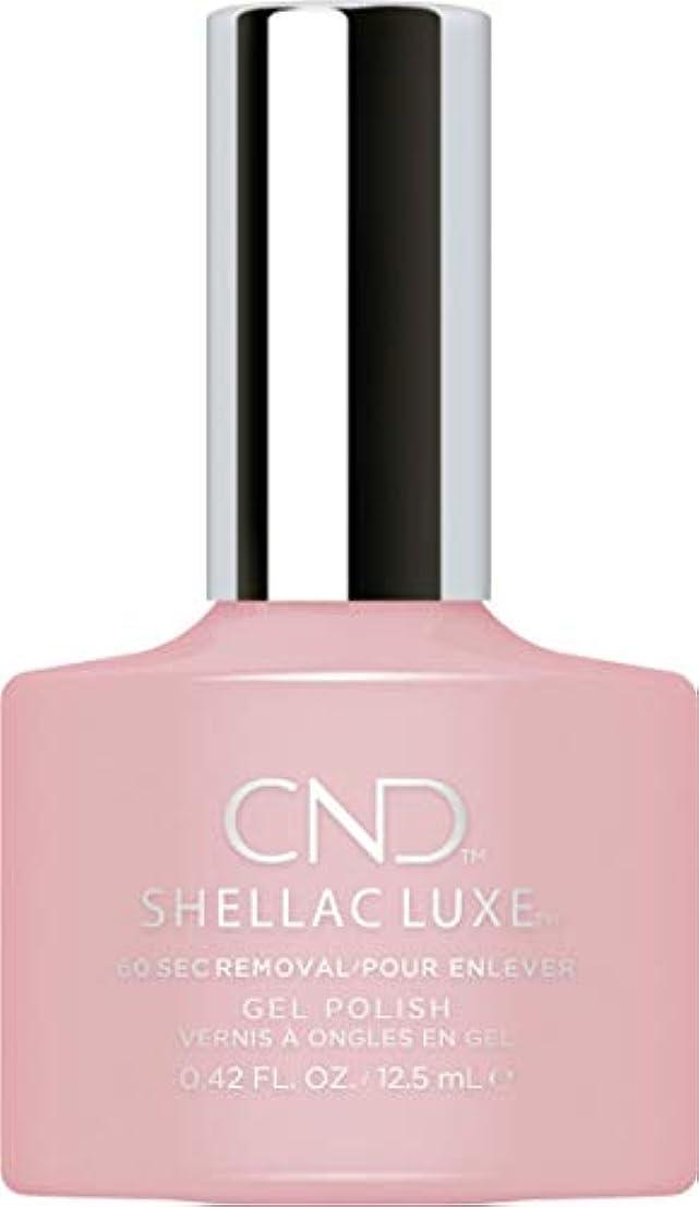 テスト失速相反するCND Shellac Luxe - Nude Knickers - 12.5 ml / 0.42 oz