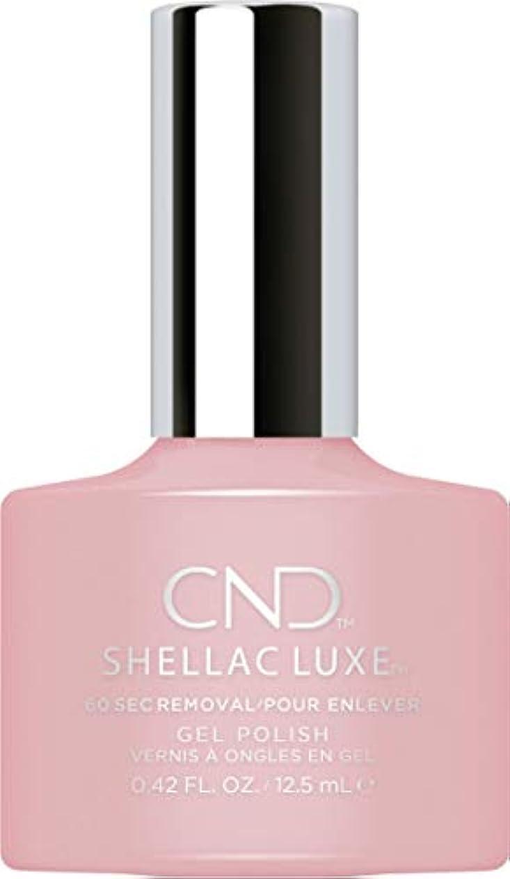 ブローホールいろいろ読書をするCND Shellac Luxe - Nude Knickers - 12.5 ml / 0.42 oz