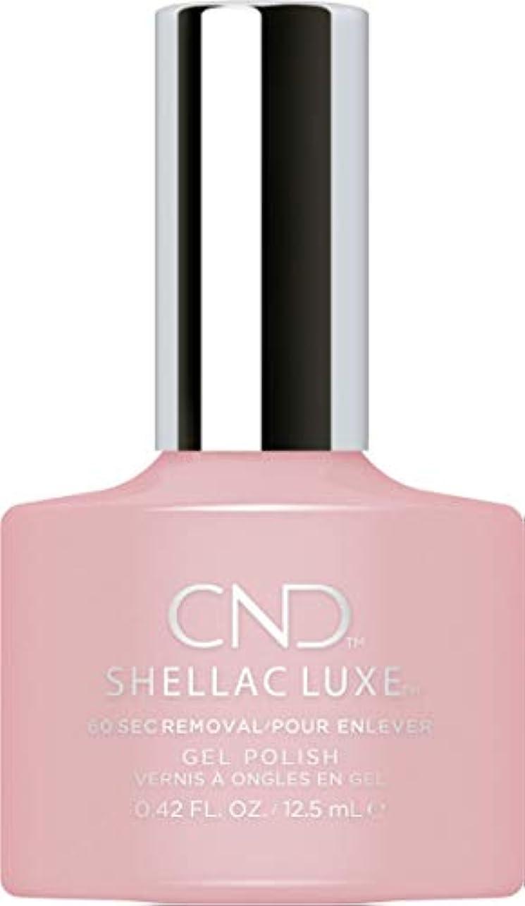 期待するやさしく瞬時にCND Shellac Luxe - Nude Knickers - 12.5 ml / 0.42 oz
