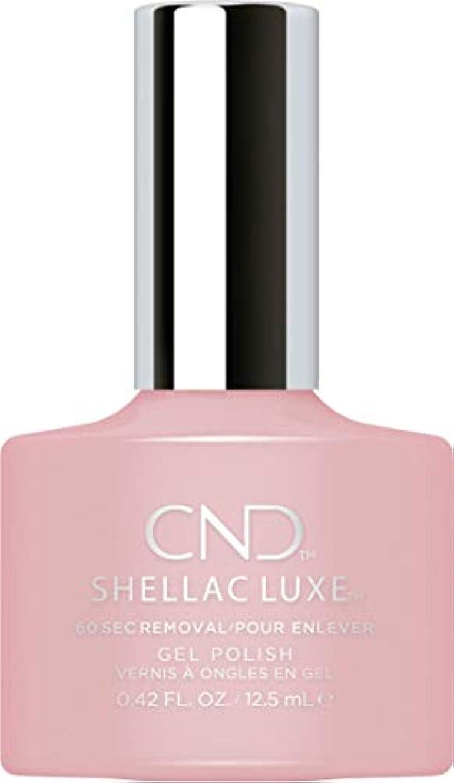 ほめる競争力のある正当化するCND Shellac Luxe - Nude Knickers - 12.5 ml / 0.42 oz