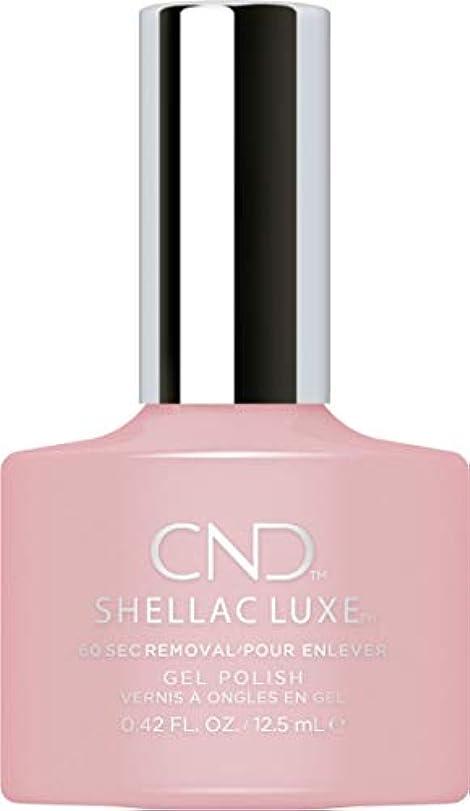 オールビジターちっちゃいCND Shellac Luxe - Nude Knickers - 12.5 ml / 0.42 oz