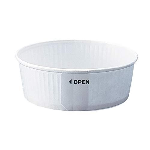 業務用 プリーツカップ 55 白(100枚入)[ケーキ型/焼き型/チーズケーキ/ベーキングカップ]