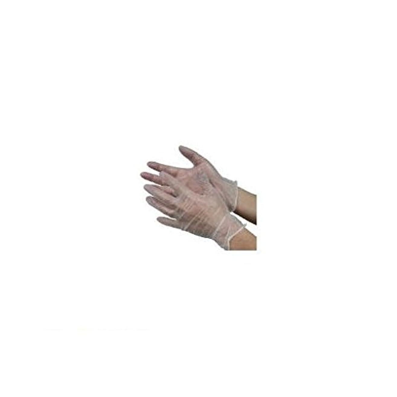 標準作詞家スカーフBV88228 モデルローブビニール使いきり手袋【粉つき】S 100枚入 NO930