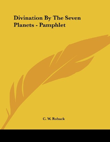 Divination by the Seven Planet...
