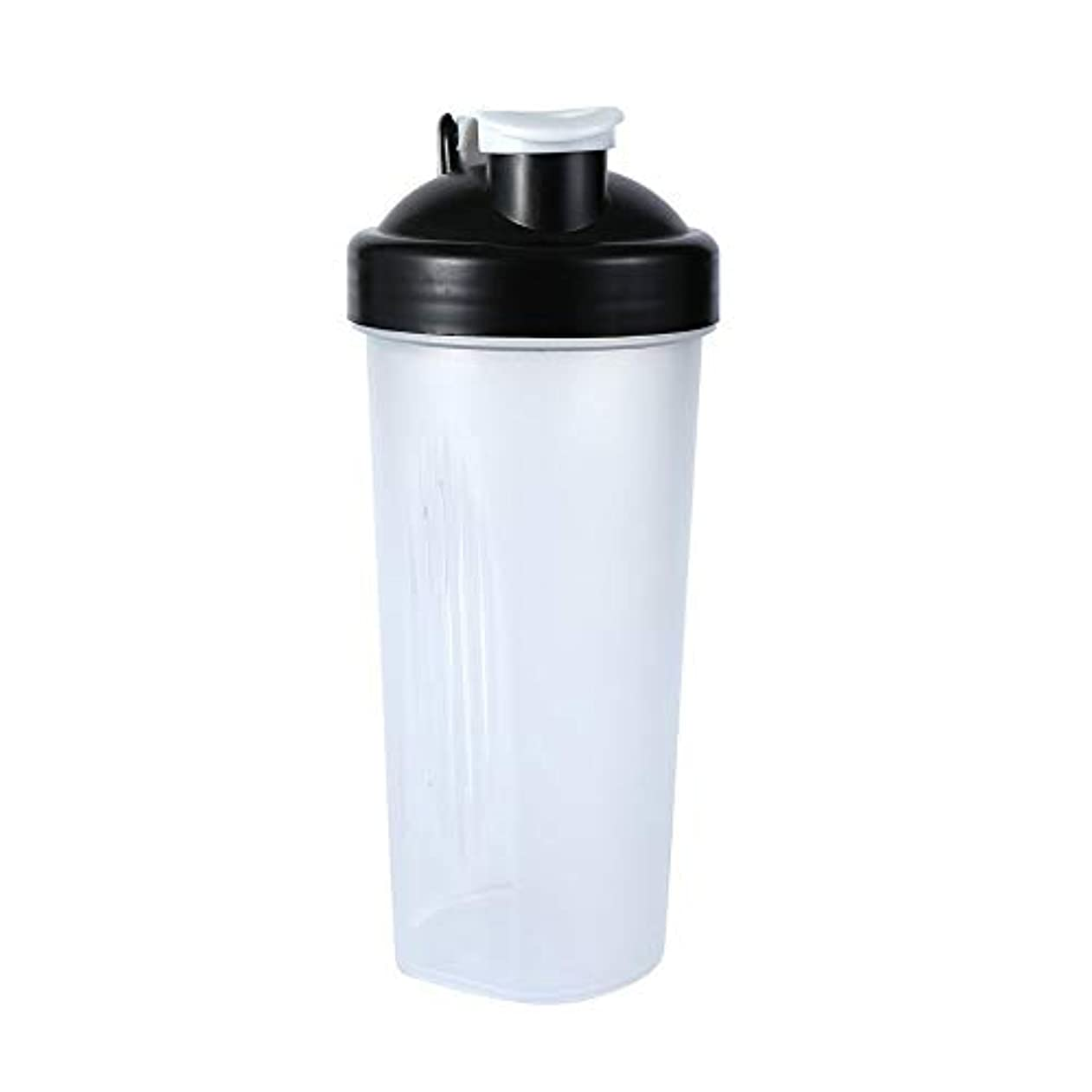 メールうなずく栄光のSimg Sports Pro プロテインシェイカー 600ml シェーカーボトル ホワイト (600ml)
