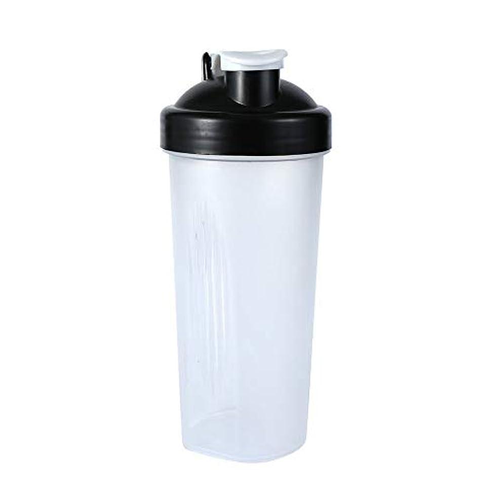 打撃熱望するローストSimg Sports Pro プロテインシェイカー 600ml シェーカーボトル ホワイト (600ml)