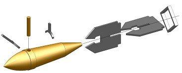 アドラーズネスト 1/350 九九式800kg徹甲爆弾 10発入