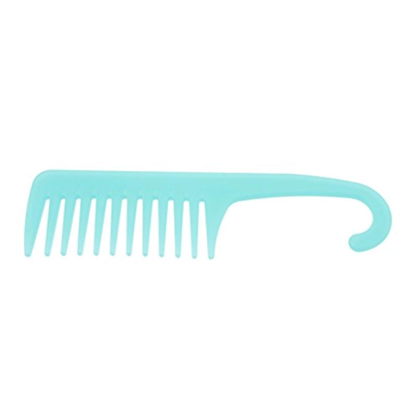 びっくり旧正月油ヘアコーム ヘアブラシ くし ワイド歯 櫛 サロン 帯電防止 3タイプ選べる - A