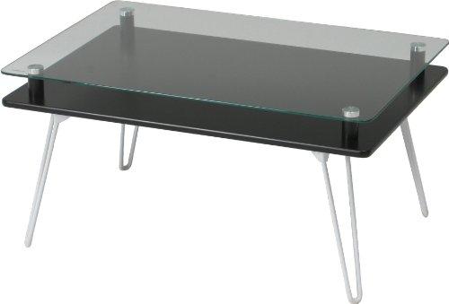 不二貿易 ディスプレイ テーブル クラリス ブラック 87769