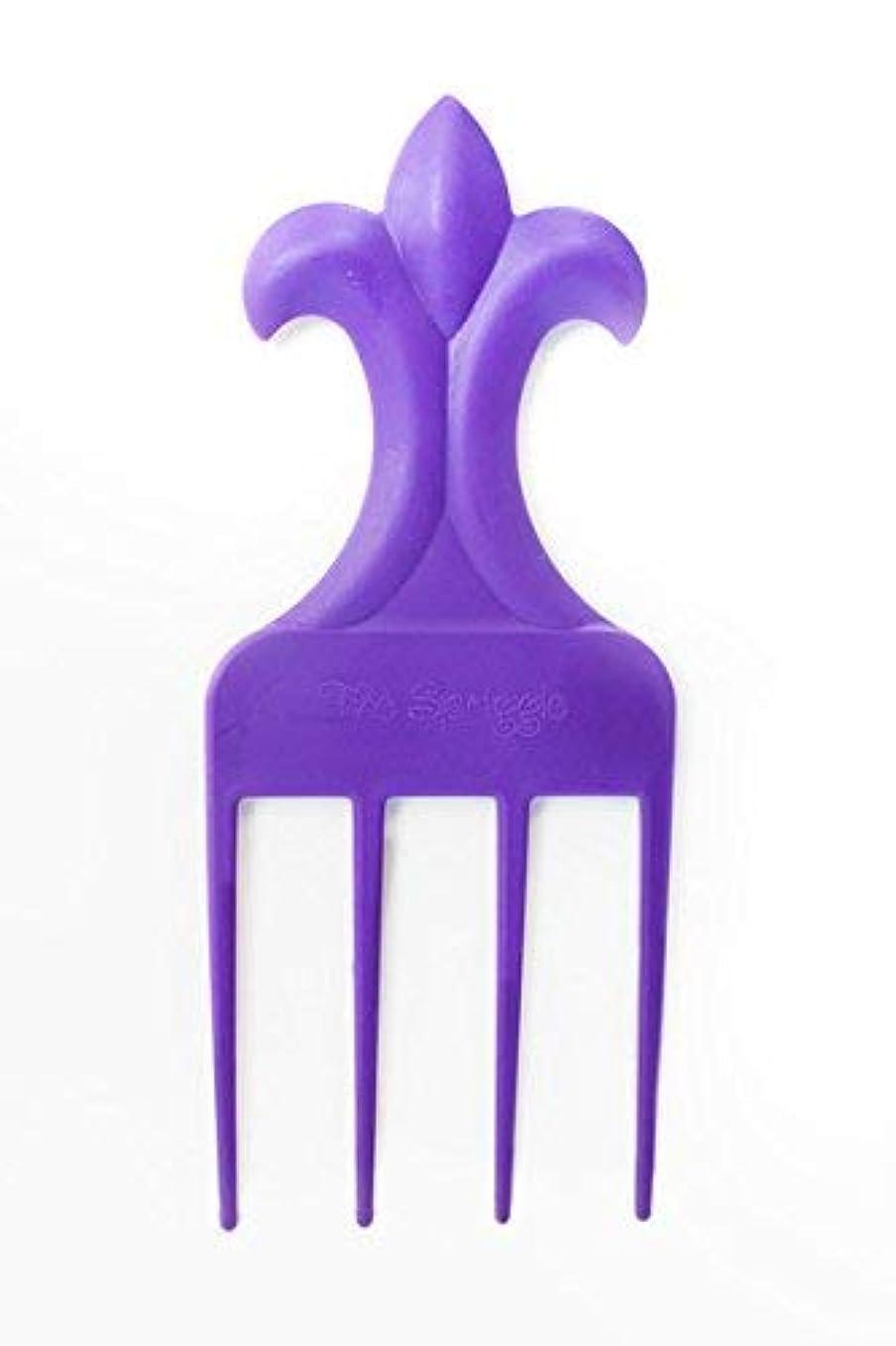 なめるブラシ離れてThe Spriggle (Purple) [並行輸入品]