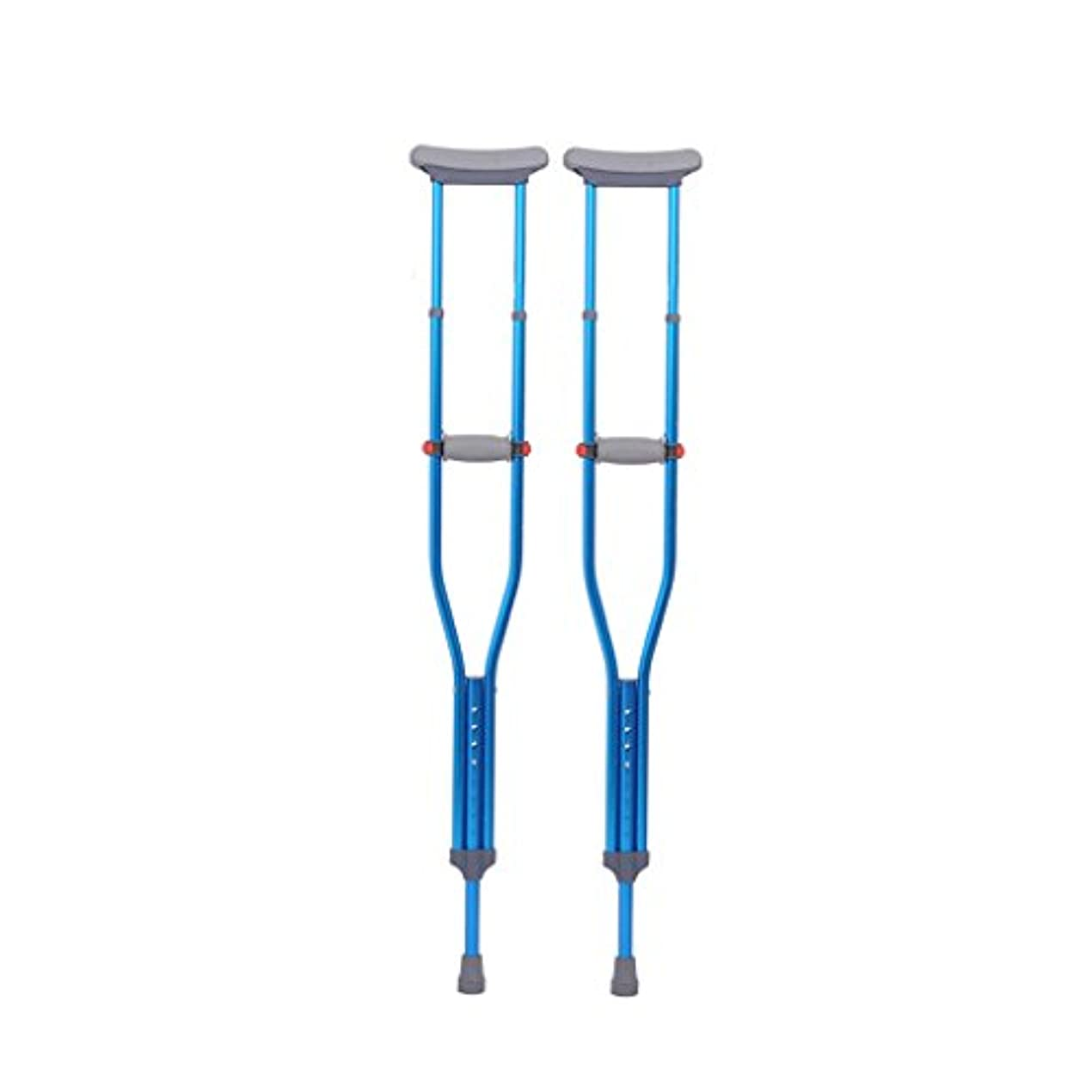 リーク少ない請求脇の下のアルミ合金の調節可能な高さおよび大人の杖の赤い点の斧の松葉杖(成人)