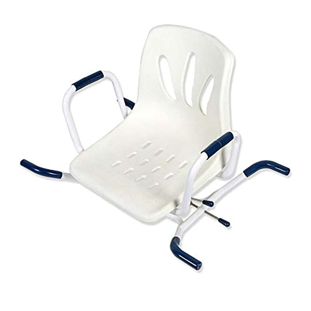 迷惑チャールズキージング残酷バスボードの座席を横切った吊り下げ式バスベンチ調節可能なスイベルバスター(背もたれ付き)