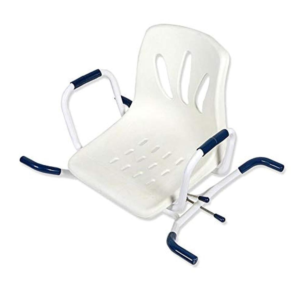 撤回する鋸歯状単調なバスボードの座席を横切った吊り下げ式バスベンチ調節可能なスイベルバスター(背もたれ付き)