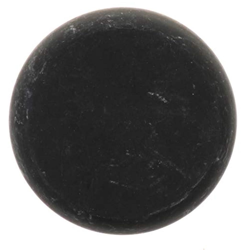 誕生勝利した寛大な天然石ホットストーン マッサージ用玄武岩 マッサージストーン ボディマッサージ 実用的 全2サイズ - ブラック, 01