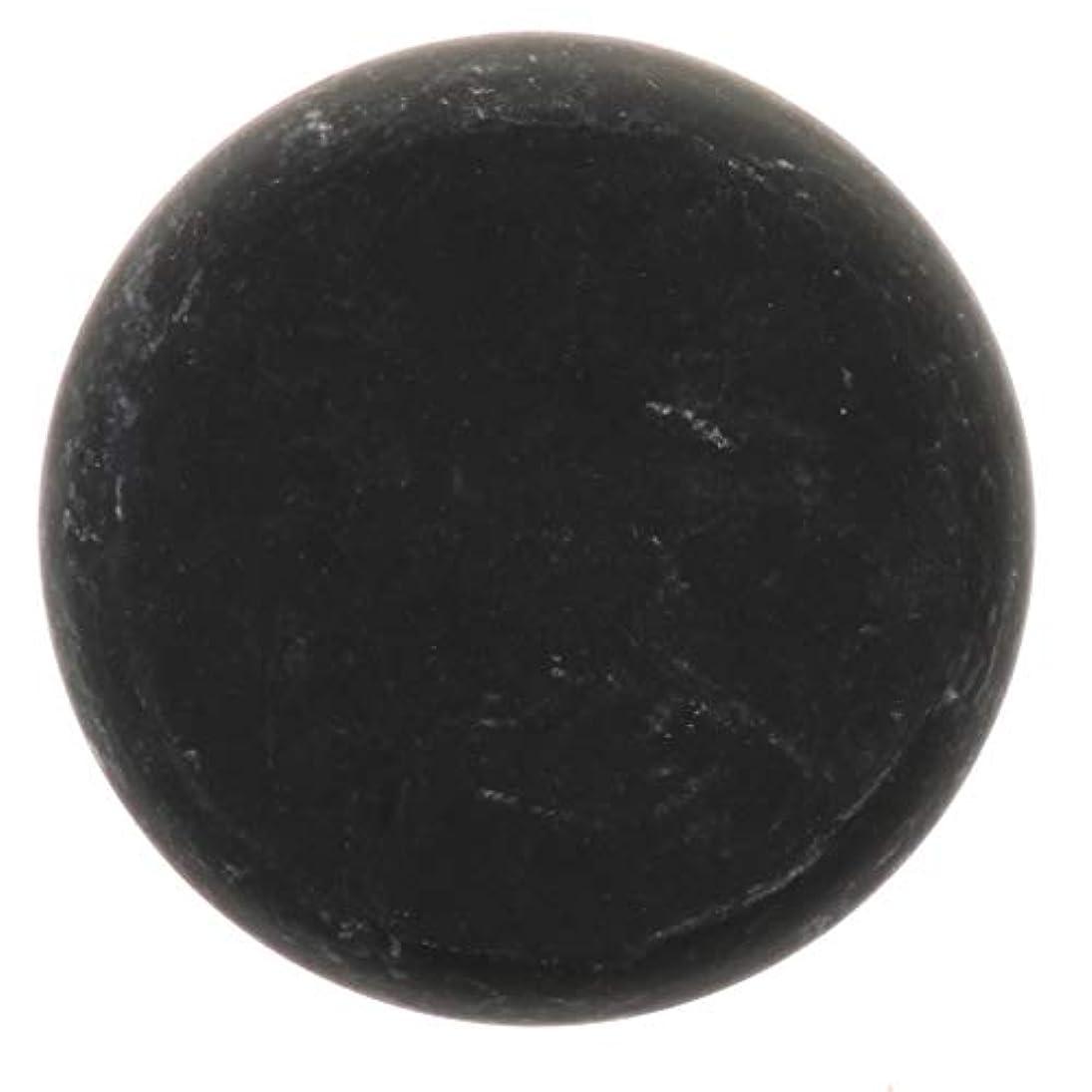 新鮮な資格情報五月FLAMEER 天然石ホットストーン マッサージ用玄武岩 マッサージストーン ボディマッサージ 実用的 全2サイズ - ブラック, 01