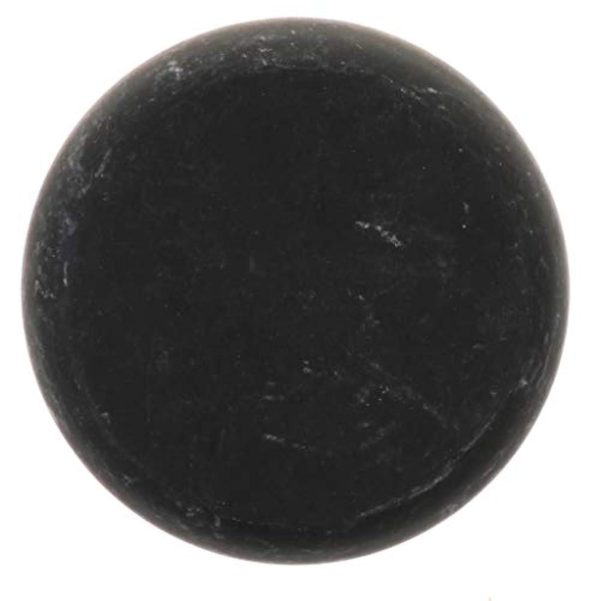 物理学者欠如拒絶FLAMEER 天然石ホットストーン マッサージ用玄武岩 マッサージストーン ボディマッサージ 実用的 全2サイズ - ブラック, 01
