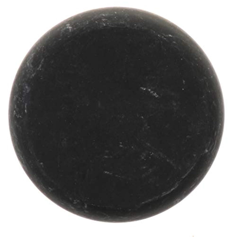 対応する同化代替FLAMEER 天然石ホットストーン マッサージ用玄武岩 マッサージストーン ボディマッサージ 実用的 全2サイズ - ブラック, 01