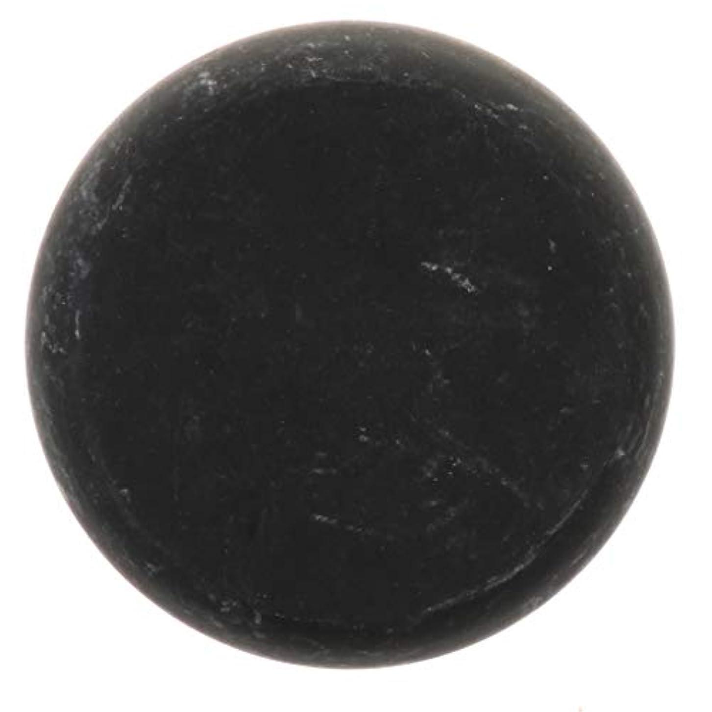 問題コスト寛大な天然石ホットストーン マッサージ用玄武岩 マッサージストーン ボディマッサージ 実用的 全2サイズ - ブラック, 01
