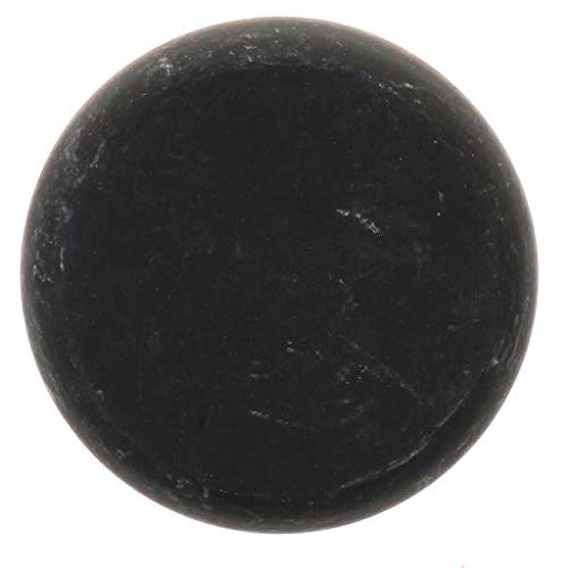 素晴らしい良い多くの高価なステンレス天然石ホットストーン マッサージ用玄武岩 マッサージストーン ボディマッサージ 実用的 全2サイズ - ブラック, 01