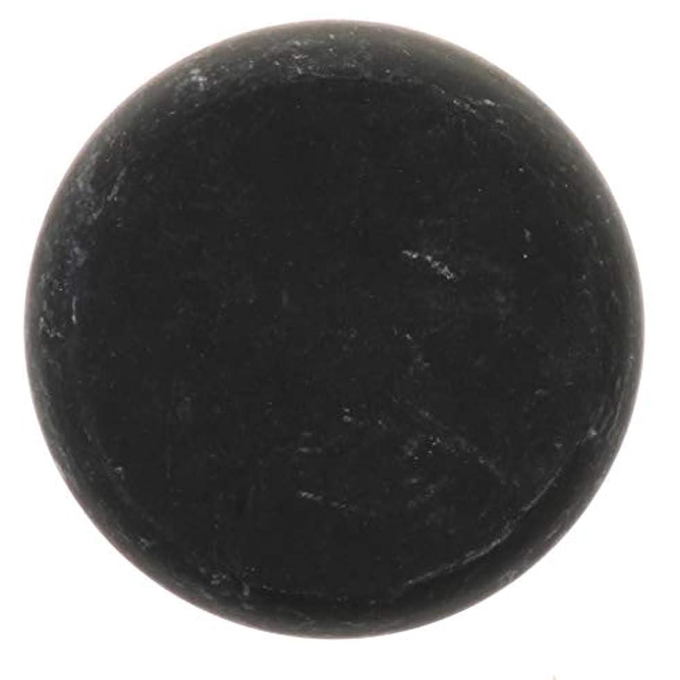 淡いベンチ社会主義FLAMEER 天然石ホットストーン マッサージ用玄武岩 マッサージストーン ボディマッサージ 実用的 全2サイズ - ブラック, 01