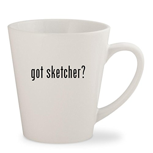 Gotスケッチャー?–ホワイト12oz Ceramic ...