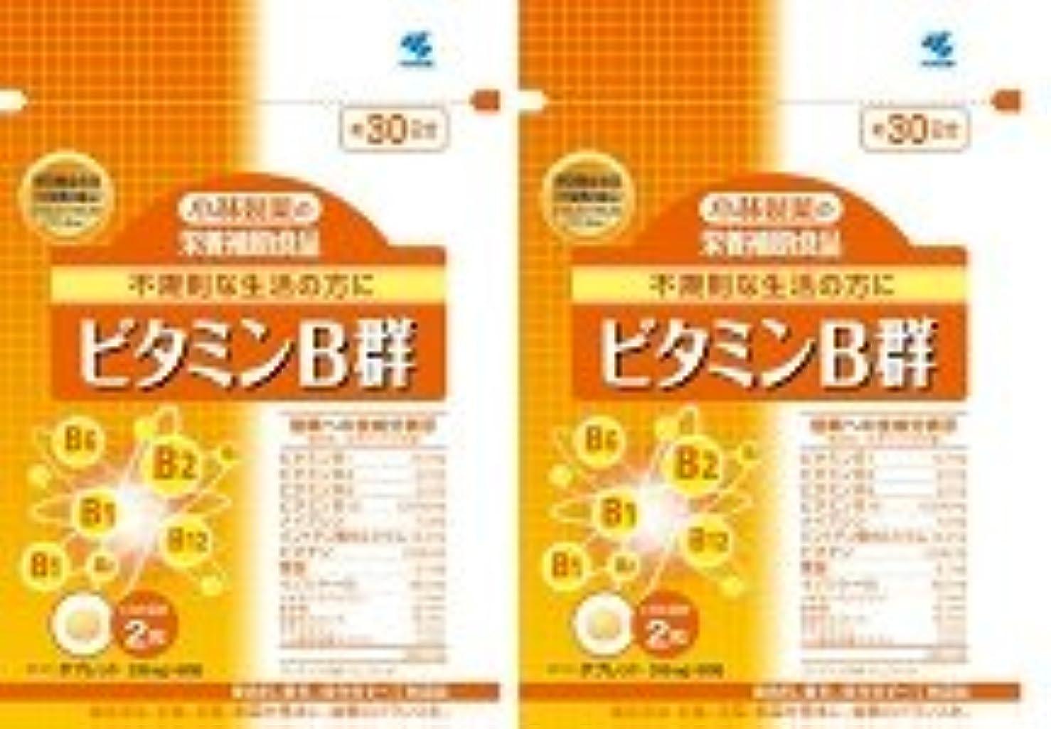 解任フィドル鳥【???便】小林製薬 ビタミンB群 60粒×2個セット