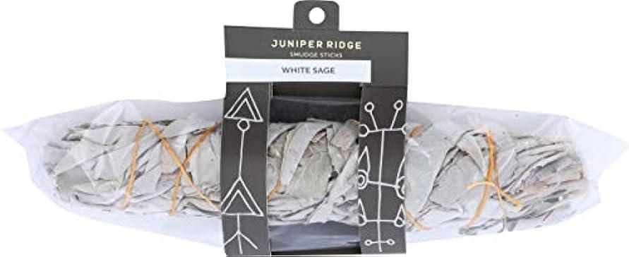 チップ提供奇妙な1カリフォルニアホワイトセージEX LARGEしみ、Juniper Ridge Wild Harvested Smudge